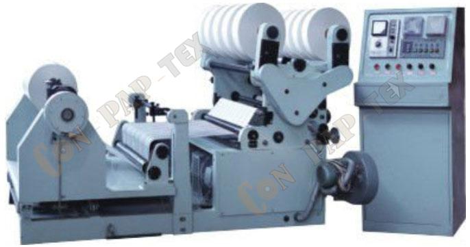 Tipo Maquina do Cilindro de Rebobinadora da Talhadeira