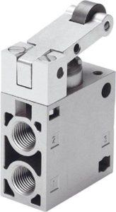 pneumatic-roller-lever-valve